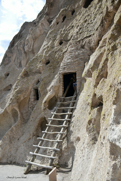 Bandelier National Monument, Los Alamos, New Mexico - cliff dwelling