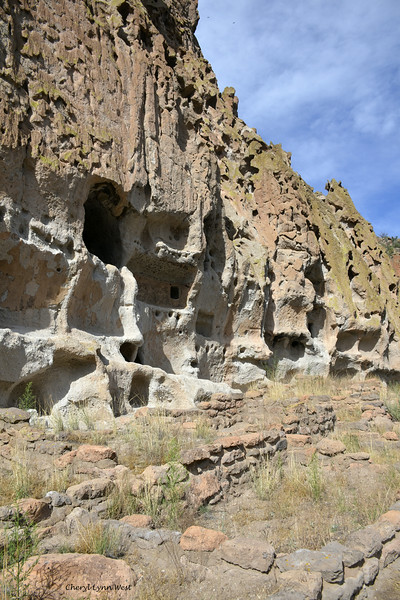 Bandelier National Monument, Los Alamos, New Mexico - cliff dwellings