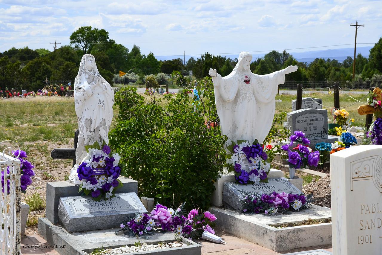 Los Llanitos Cemetery, New Mexico