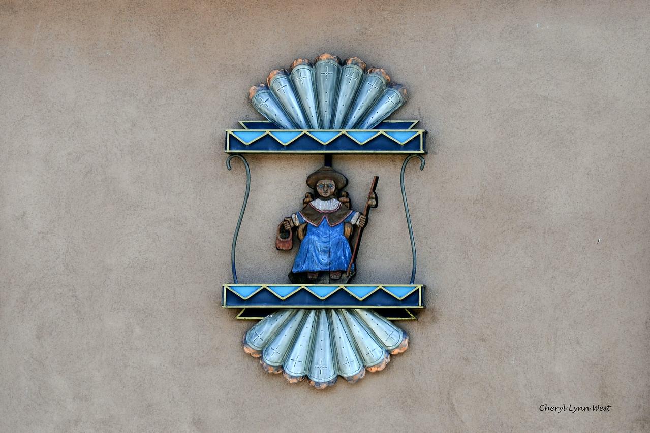 El Santuario de Chimayó, New Mexico -  Santo Niño figure in the  Santo Niño Chapel