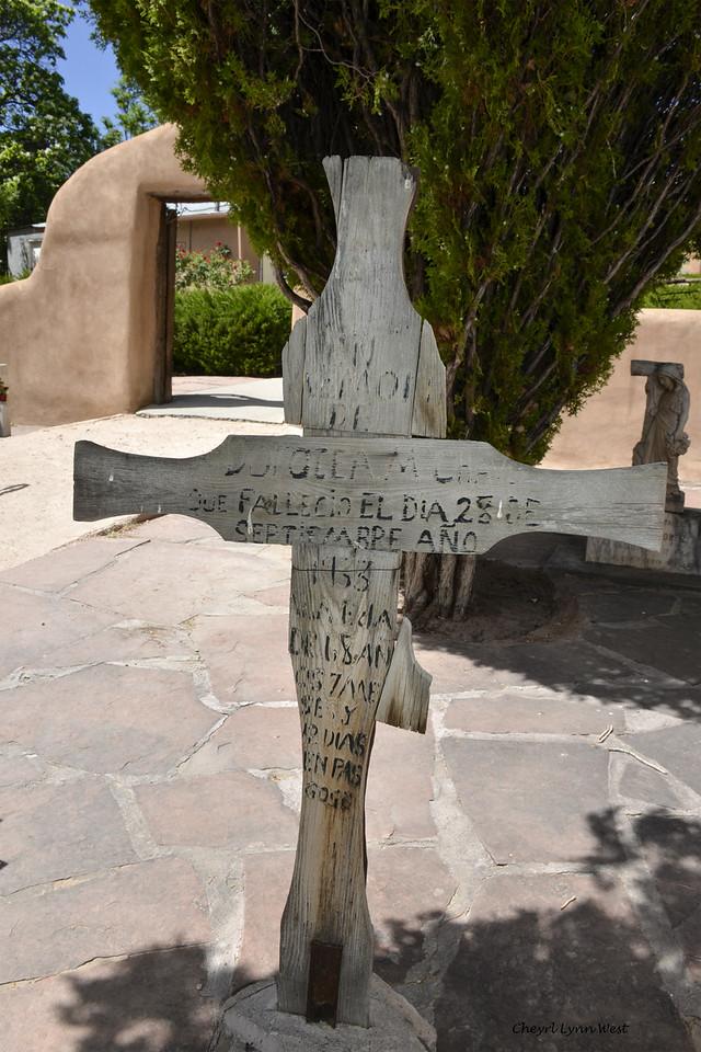 El Santuario de Chimayó, New Mexico - Courtyard for the chapel