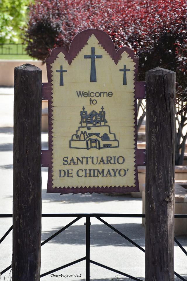"""El Santuario de Chimayó, New Mexico - also known as the """"Lourdes of America"""""""