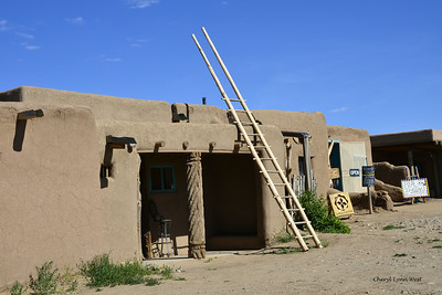 Taos Pueblo, New Mexico - Adobe dwellings of the Red Willow People