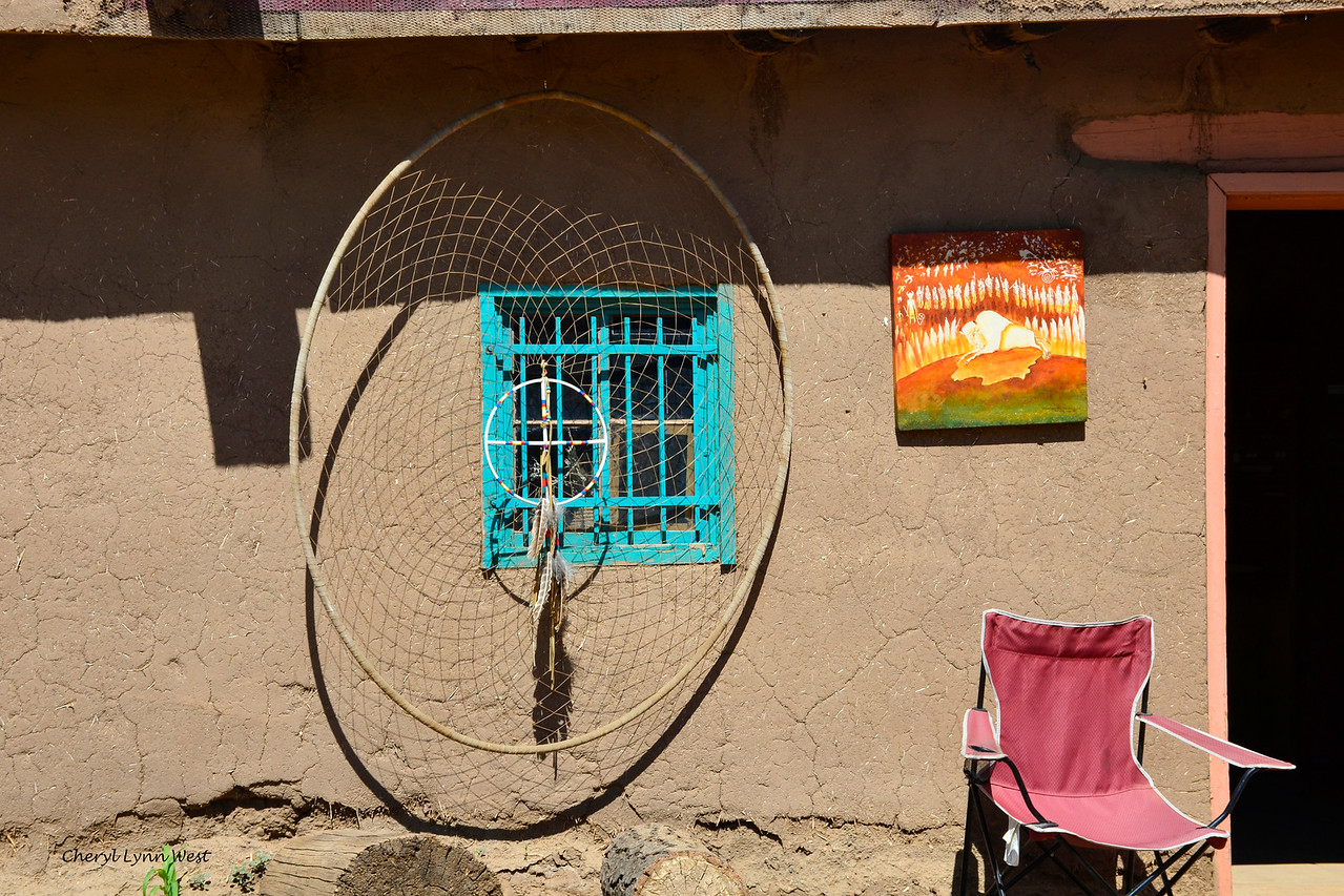Taos Pueblo, New Mexico - Store with dream catcher