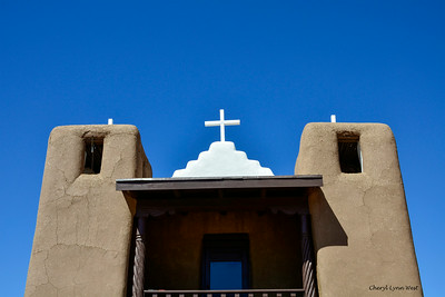 Taos Pueblo, New Mexico - St. Jerome Church