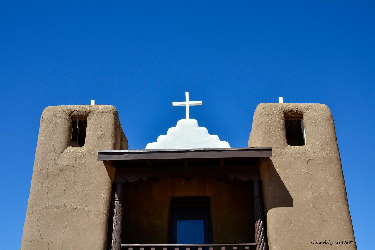 Taos Pueblo, New Mexico - St. Jerome Church