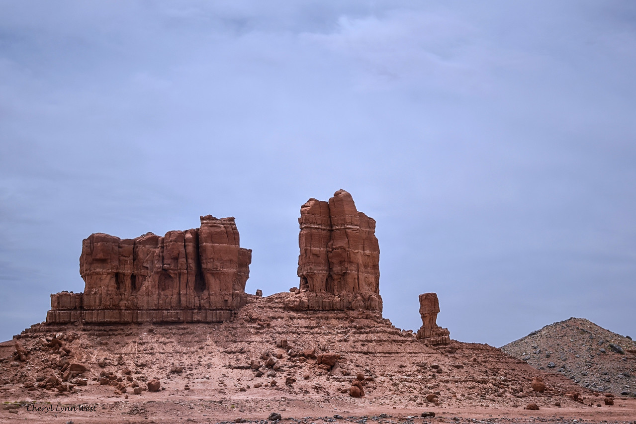 Utah, countryside as we got closer to Monument Valley