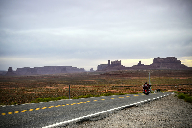 Utah countryside - coming into Goulding Lodge and Monument Valley