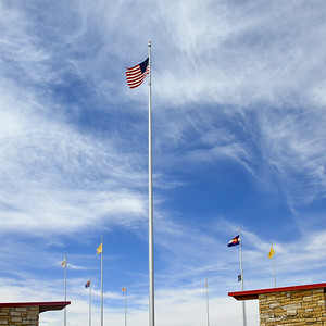 Four Corners, where the four states, New Mexico, Colorado, Utah and Arizona meet