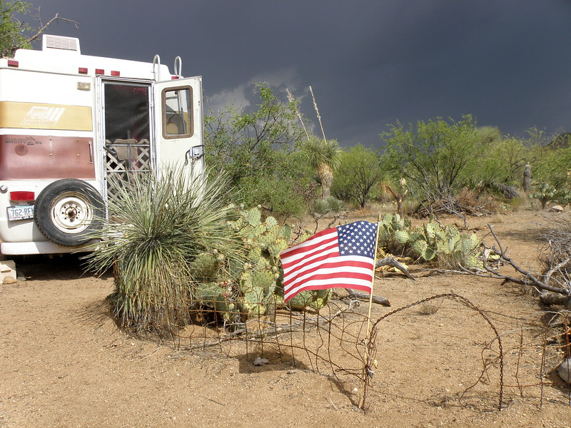 Boondocking in the Storm