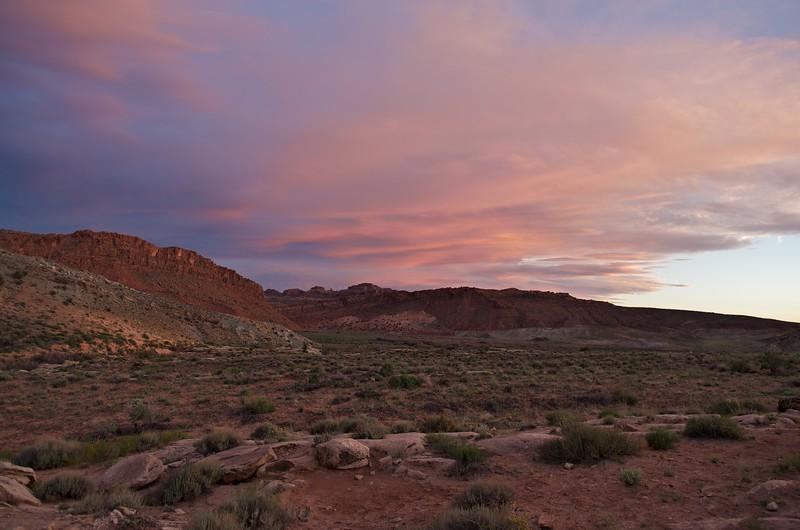 Cache Valley sunset