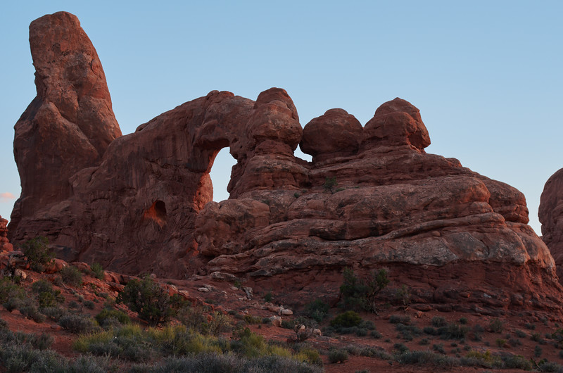 Turret  Arch, late afternoon