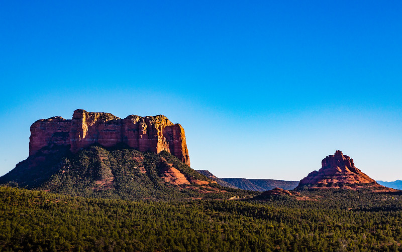 Red Buttes at Sunset