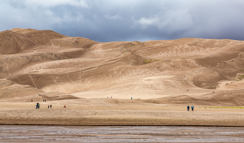 Visitors to the Dunes