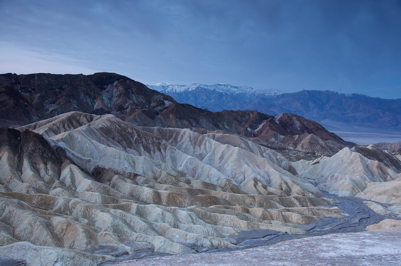 Pre-dawn at Zabriskie Point