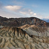 Zabriskie Point, morning