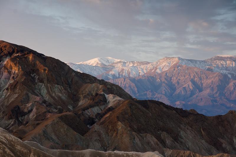 High Sierra's from Zabriskie Point #2