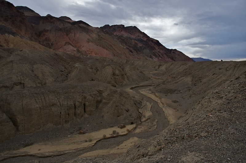 Dry river, Artists Drive