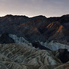 Zabriskie Point, early light
