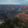 Last light at Mather Point