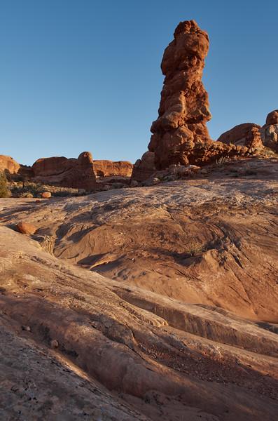 Sandstone spire