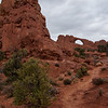 Trail to Skyline Arch