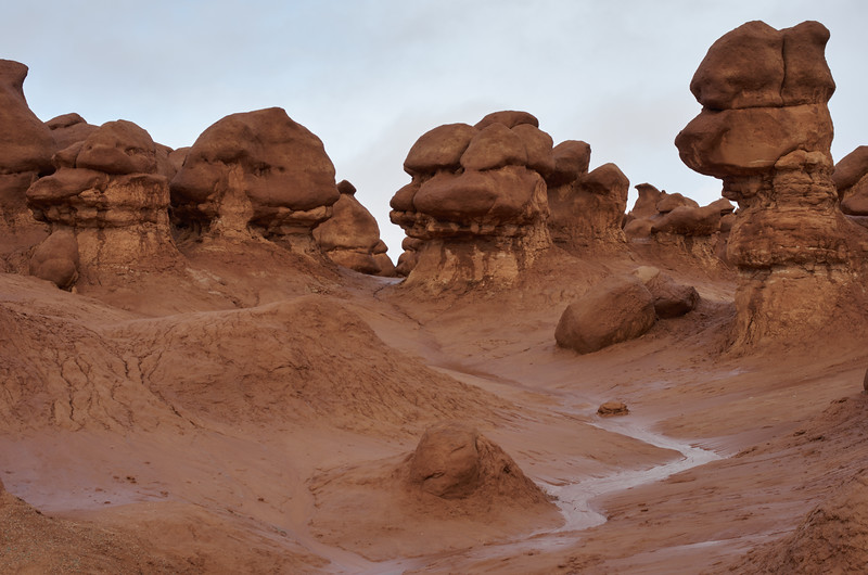 Goblin Valley Rivulet