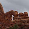 Turret Arch, gray day