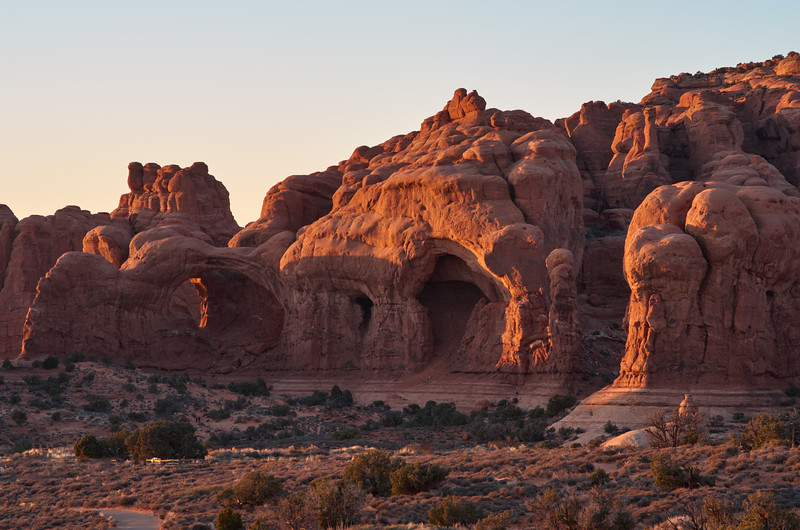 Double Arch, late afternoon