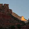 Early Light in Zion Canyon