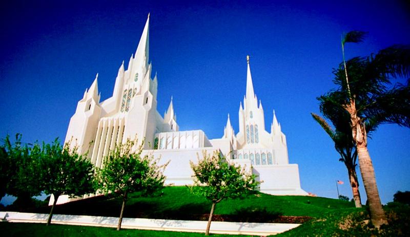 Mormonský kostol, La Jolla, CA