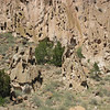 Bandelier cliffs, Frijoles Canyon