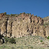 Bandelier cliff dwellings, Frijoles Canyon