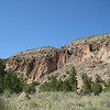 "The Bandelier National Monument, Frijoles Canyon, New Mexico. This ancestral Pueblo complex included cliff dwellings and a large village on the canyon floor, circa 1100-1450.  <a href=""http://www.nps.gov/band/"">http://www.nps.gov/band/</a>"