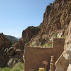 Bandelier cliffs, looking NW