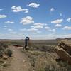 US Parks Service surveyor, Una Vida.