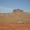 Approaching Monument Valley, Navajo Reservation