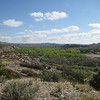Above Ojo Caliente, New Mexico, looking North up the Rio Chamas