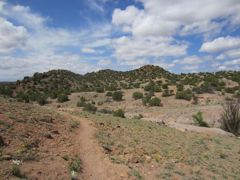 Posi Ouinge Pueblo trail, Ojo Caliente NM