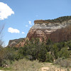 Entrance to Echo Amphitheater, Carson National Forest, off hwy 84 north of Abiquiu