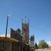 Tower on main street, El Rito.