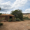 Hogons at Ghost Ranch, New Mexico. There are all kinds of trails that the public can access on this huge property.