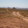 Valley of the Gods with Monument Valley in the background