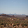 Valley of the Gods, Utah - Monument Valley in the background