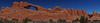 Skylne Arch panorama