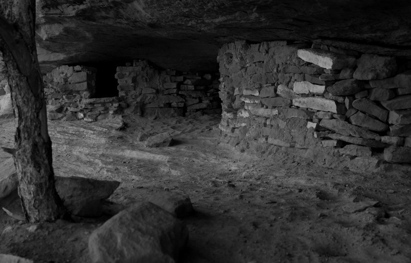 Granary near Aztec Butte