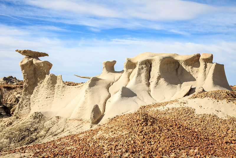 Bisti Formation <br /> <br /> Bisti/De-Na-Zin Wilderness  <br /> Farmington, New Mexico <br /> (5II2-14348)