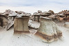 Toad Stools <br /> <br /> Bisti/De-Na-Zin Wilderness  <br /> Farmington, New Mexico <br /> (5II2-14126)