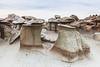 Toad Stools <br /> <br /> Bisti/De-Na-Zin Wilderness  <br /> Farmington, New Mexico <br /> (5II2-14126)