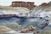 Two Rocks at Bisti <br /> Bisti/De-Na-Zin Wilderness <br />  <br /> Farmington, New Mexico <br /> (5II2-14153)